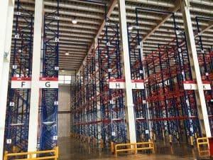 重型架:第三方物流倉儲