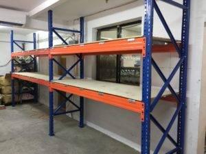 重型貨架,木板舖設
