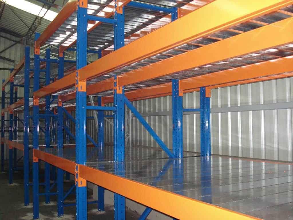 《B2H4》棧板貨架:高荷重儲存/四柱式