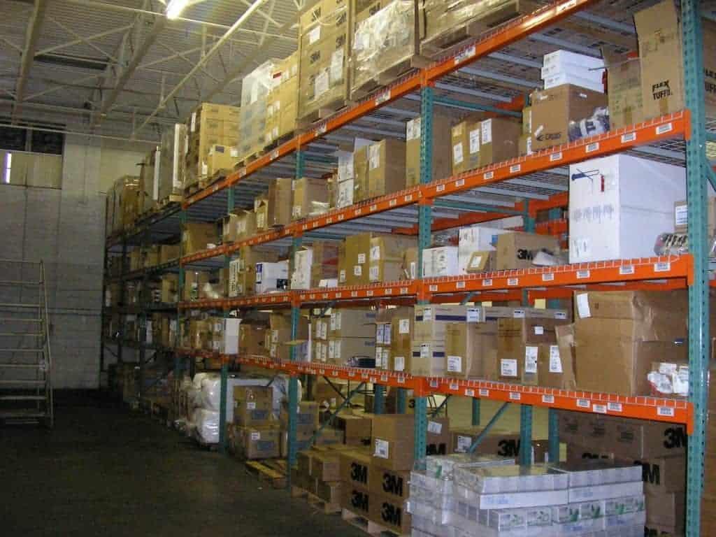 《B1W2》棧板貨架:一般儲存/鋪鍍鋅網